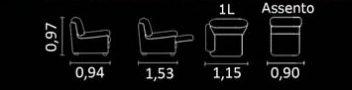 sofá retratil com mecanismo